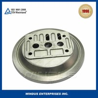 Aluminum casting part Custom metal casting lost wax