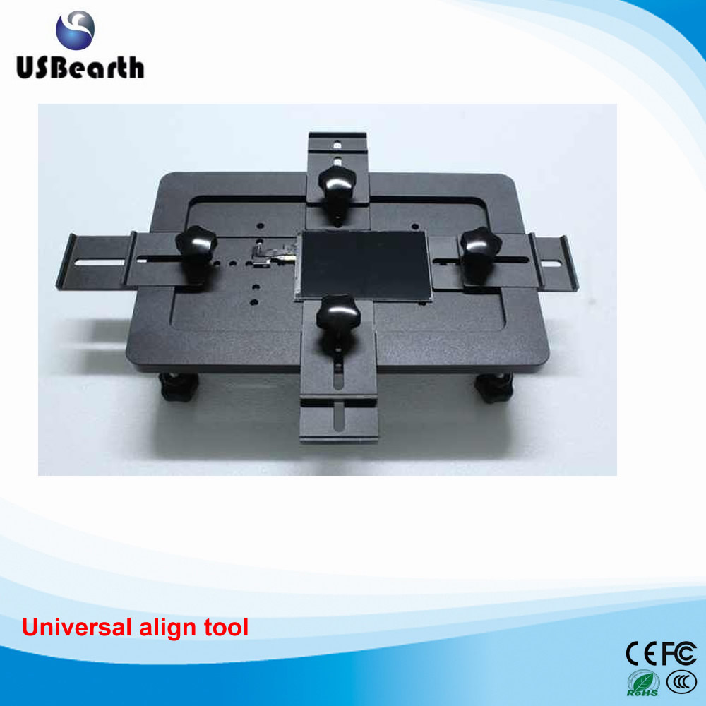 Universal align tool for under 7 inch mobile screens,Special for OCA laminating use
