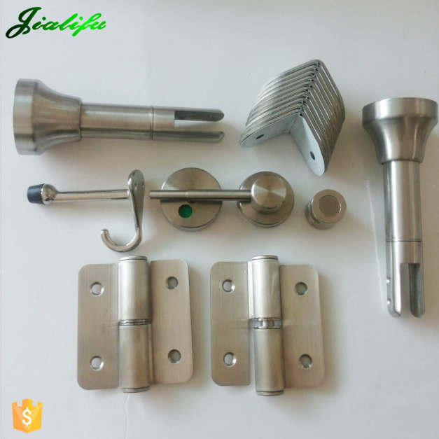 316 grade stainless steel toilet partition/bathroom cubicle hardware accessories