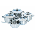 9pcs stainless steel cookware set