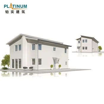 Prefabricated galvanized metal steel building villa comply with Australian standard