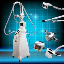 en espanol! body shape velashape vacuum slimming equipment vacuum rf roller massage+ultrasound cavitation