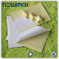 Cast coated high glossy 80 grams adhesive A4 paper