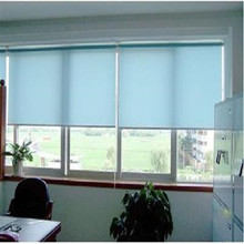 Light colors roller blinds window decor office decor