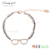 L1479 Candygirl brand handmade latest design women accessories bangle gold jewelry glasses bead bracelet