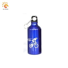 Aluminum water bottle custom logo drink water bottle for sale