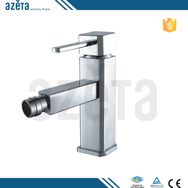 Chrome Plated Brass Mixer Single Handle Tap Bidet Faucet