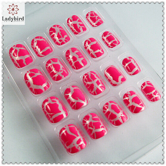 custom design nail art cobwebbing adhesive nail tips