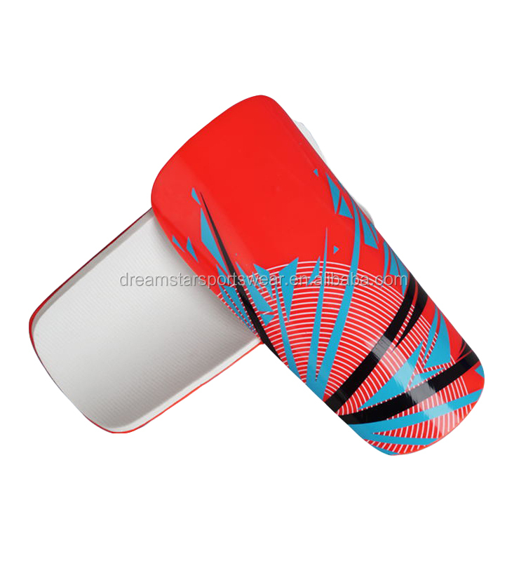 Latest Plastic High Quality Soft Advanced Soccer Shin Guard