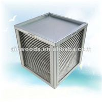 Sensible type 80% efficiency residential and home cross flow galvanized steel frame aluminium alloy price home heat exchanger