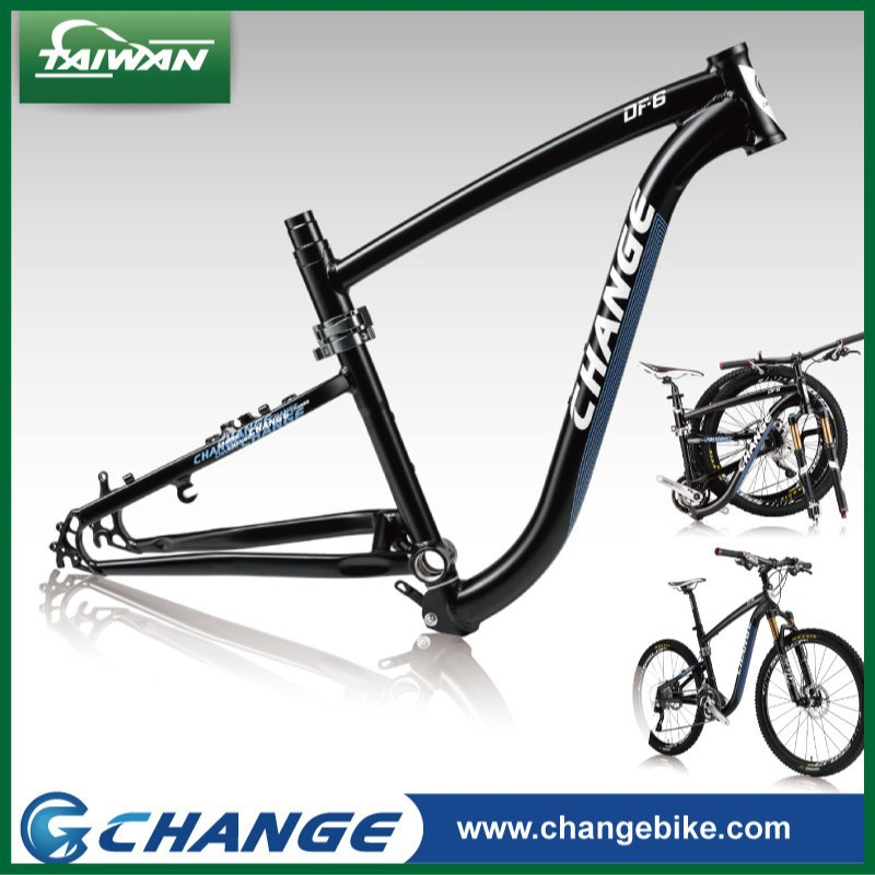 CHANGE EN14766 approved folding mountain bicycle aluminuium frame