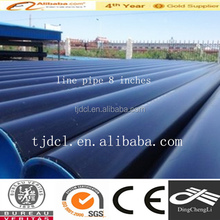 SCH40 PAINTING AND END CAP SEAMLESS STEEL PIPE FROM CHINA