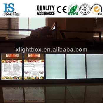 outdoor slim light box