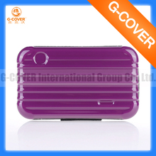 customized pp soft metal cosmetic case
