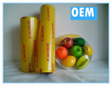 fresh wrap for food transparent PVC Cling Film roll
