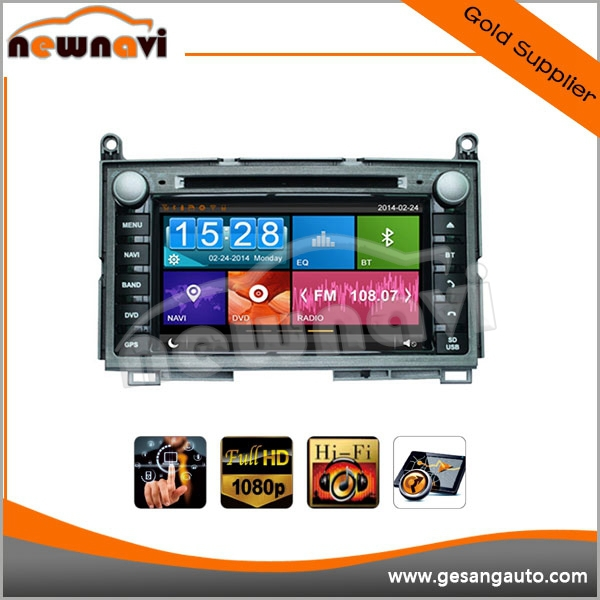 7 inch touch screen Car Stereo, Autoradio DVD GPS Navigation for TOYOTA Venza 2008- with map, bluetooth, 3D UI