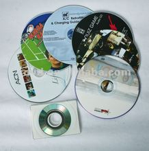 Raw material dvd disc with offset printing or silkscreen