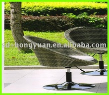 leisure rattan swivel chair