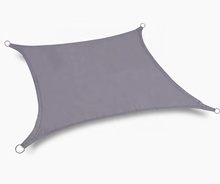 Waterproof Sun Sail Shade Charcoal Grey/Black 13ft <strong>x10</strong> ft Rectangular 4*3m