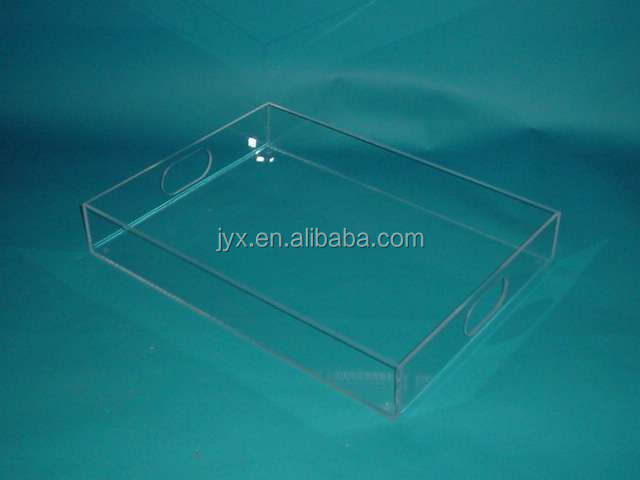 transparent China supplier acrylic pizza tray