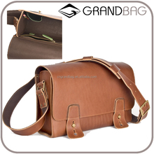 genuine cowhide leather shoulder bag for men vintage post satchel wide back strap messager bag boys leather postman bag