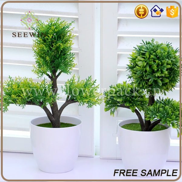 green color indoor ornamental artificial plants and trees