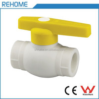 DIN 8077 PPR Pipe Fitting PPR Ball Valve