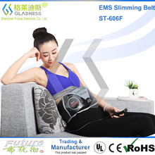 Abdominal Belt With Two Functions As Vibration Slimming And EMS Massage/hot belly slim belt