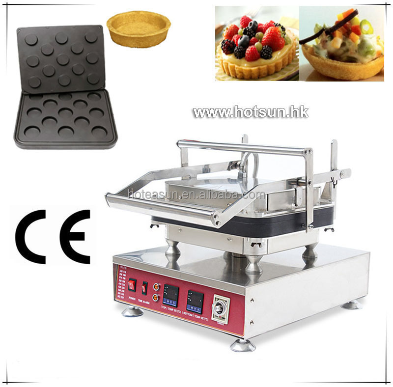 Heavy Duty Non-stick 110V 220V Electric 13pcs Ice Cream Circle Round Shape Waffle Maker Machine with Removable Plate