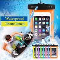 Universal Waterproof Phone Case For Iphone 5 5s 6 6s 7 Plus For Samsung Galaxy s7 s6 s5