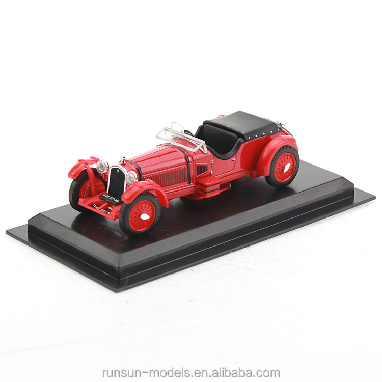red color <strong>free</strong> wheel long body 1:43 scale model cars no. <strong>Alfa</strong> <strong>Romeo</strong> 8C-193 diecast car models for sale
