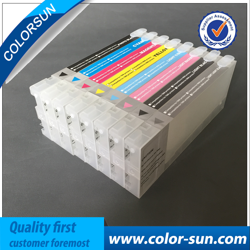 350ML Refillable ink cartridge compatible for Epson 7800 9800 7880 9880 7400 9400 7450 9450 inkjet printer cartridge