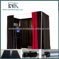 Telescopic Pipe and Drape System--Cheap Photo Booth Sales