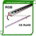 CE RoHS certification 1200mm 24v round led wall washer light