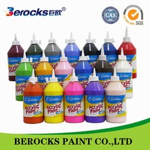 OEM non-toxic water based finger paint /acrylic paint for drawing