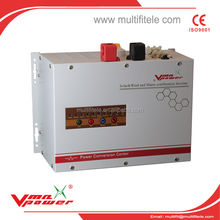 low frequency DC to AC 4KW12V 24V Pure Sine Wave solar inverter with PWM charge controller