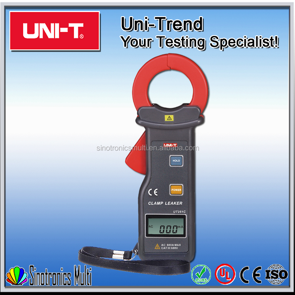 Best High Sensitivity Leakage Current Clamp Meter UNI-T UT251C