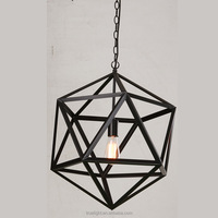 big pendant light E27 metal cage lamps china supplier