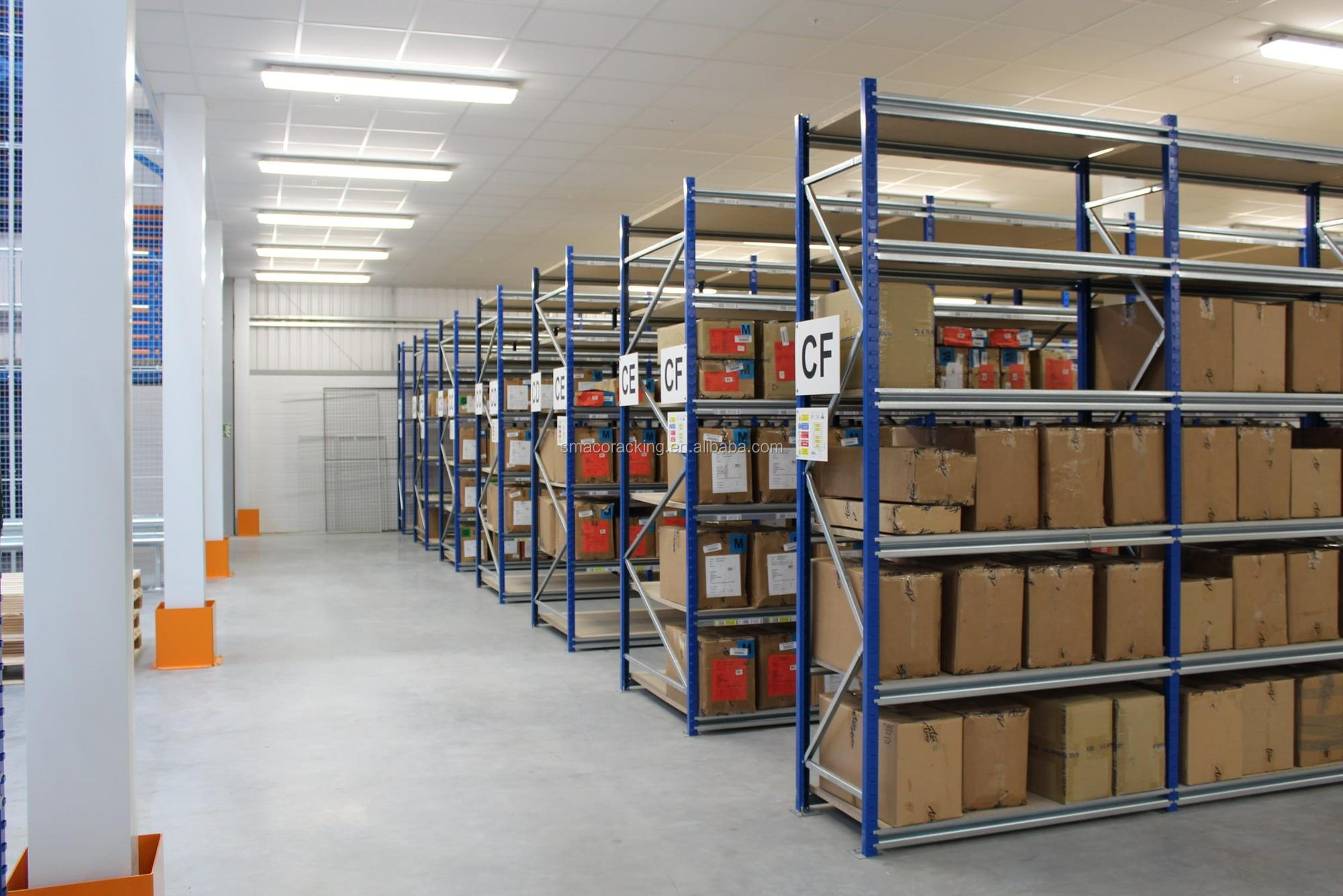 Commercial Adjustable Mental Medium Duty Racks Wide Span Shelving