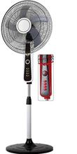 18 inch black & white/black & red color stand fan with big air flow