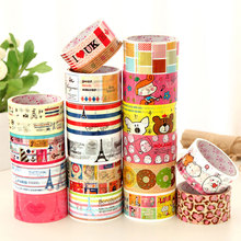 colorful stationery custom logo printed paper tape