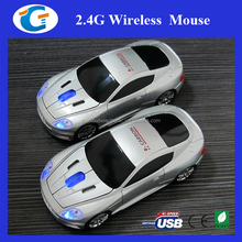 USB optical wireless car model mouse for laptop