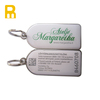 Customized logo metal key fob with key ring