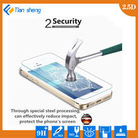 HD Clear 0.3mm 2.5D Premium Tempered Glass Film Screen Protector For iPhone 5 5S 5C
