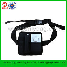 Hot Sale Multi Function Black Polyester Waist tool bag