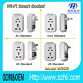 New Tech Wifi Remote Power Socket OEM 90V~250V All Specs Plug Supported Smart Socket Plug Wifi Switch