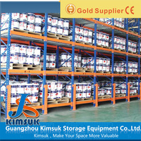 Heavy Duty Pallet Rack System Selective Beam Rack For Industrial Warehouse Storage Solutions