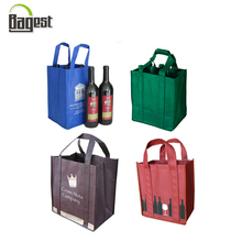 Colorful Customer Logo Grocery PP Non Woven Beer Bag for Shopping