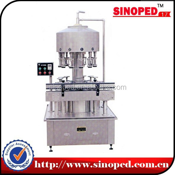 Alcohol wine bottle filling machine