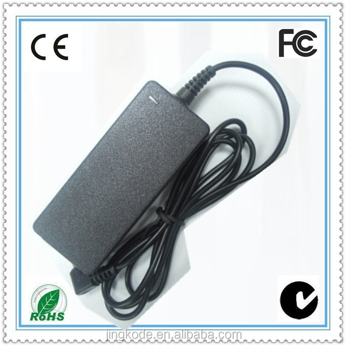 Replacement 36W 12V 3A laptop ac/dc adapter power 2 round pin to 3 pin adapter plug
